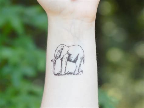 elephant tattoo designs wrist 46 elephant tattoos on wrists