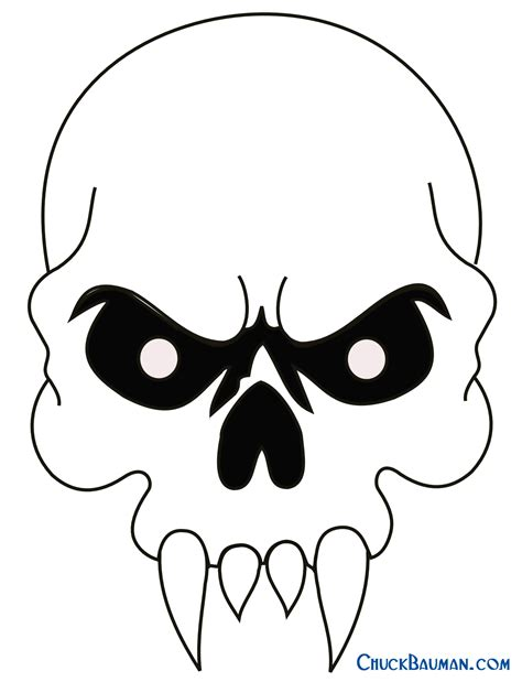 easy cool skull drawings cliparts co