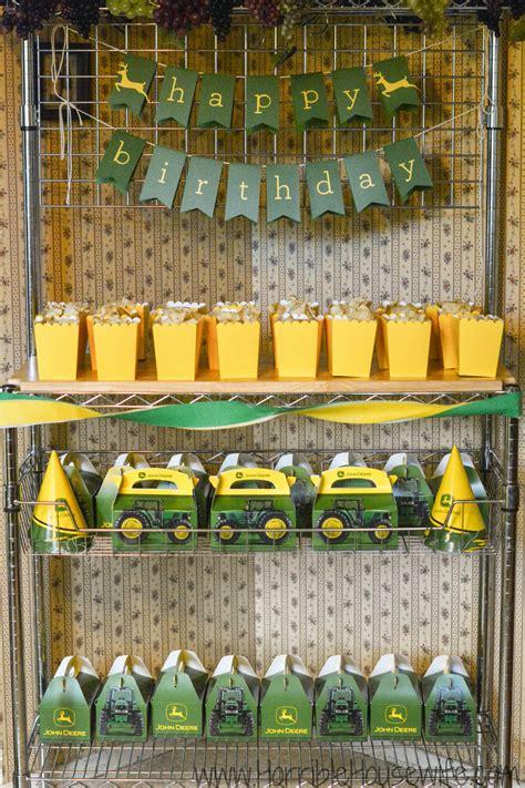 Deere Birthday Decorations by Deere Birthdays And 1st Birthdays On