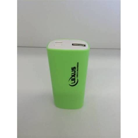Power Bank Lexus מטען נייד Power Bank מבית Lexus דגם Lpb 5200 P1000
