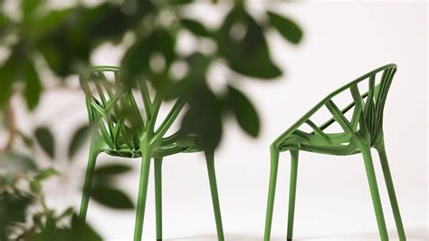 High Outdoor Chairs Vitra Vegetal