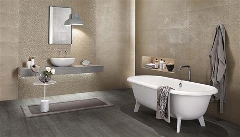 bagni in gres porcellanato bagno contemporaneo con le piastrelle in gres porcellanato