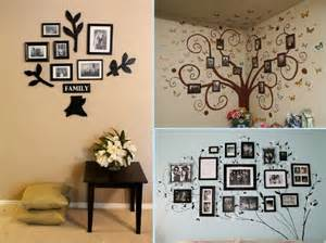 wall ideas beautiful and creative family wall ideas dine decorate design