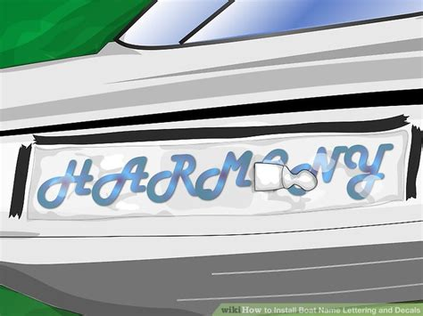 installing boat decals how to install boat name lettering and decals 11 steps