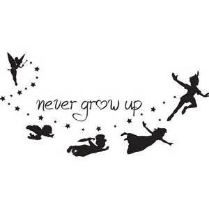 1000 ideas about peter pan silhouette on pinterest