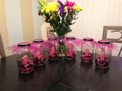 Centerpieces For Birthday First Birthday Centerpieces Party Ideas Pinterest