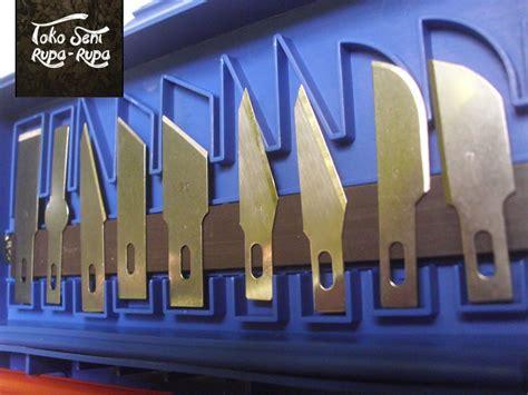 13 In 1 Set Pisau Alat Ukir Seni Dengan 3 Handle Pisau jual cutter pen paper cut tools alat ukir karet hobby knife set toko seni rupa rupa