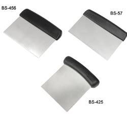 plastic bench scraper fat daddio s stainless steel bench scraper with plastic