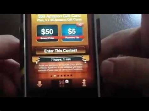 Get Free Amazon Gift Cards Iphone - how to get free amazon gift cards on your iphone freeappwin youtube