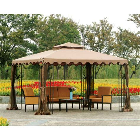 big gazebo big lots 10 x 12 roof gazebo replacement canopy