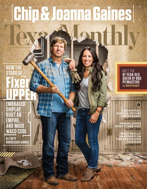 joanna gaines magazine october 2016 archives texas monthly