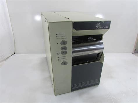 ZEBRA 105S PRINTER, S SERIES Z105-221-0032 | eBay Z105