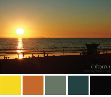sunset colors color palette ideas color palette california sunset thecarolinejohansson com