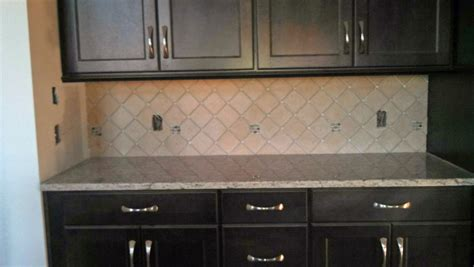 kitchen backsplash ideas with dark cabinets white subway tile backsplash with dark cabinets home