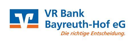 vr bank in hof vr bank bayreuth hof eg filiale schwarzenbach a d saale