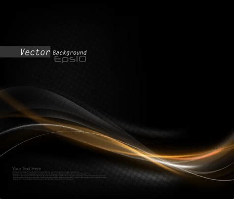 black dynamic wave vector background – over millions