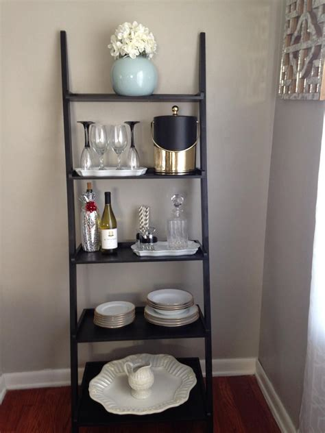 sloane leaning wine bar bookcase set the bar cart gt the bar shelf just take an a frame