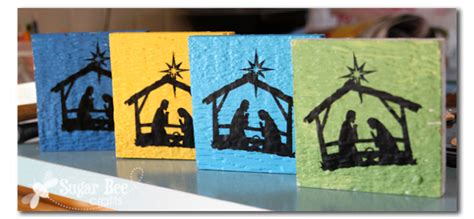 nativity craft projects 33 nativity crafts for do small things with
