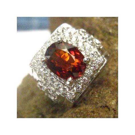 Cincin Lapis Emas Putih Batu Pink Rangka Tebal Bentuk Br212p cincin pria silver 925 batu permata orange garnet 7 75 us