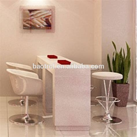 Nail Bar Table And Chairs Most Popular Artificial Marble Nail Bar Tables For Nail Salon Shop Buy Nail Bar Tables