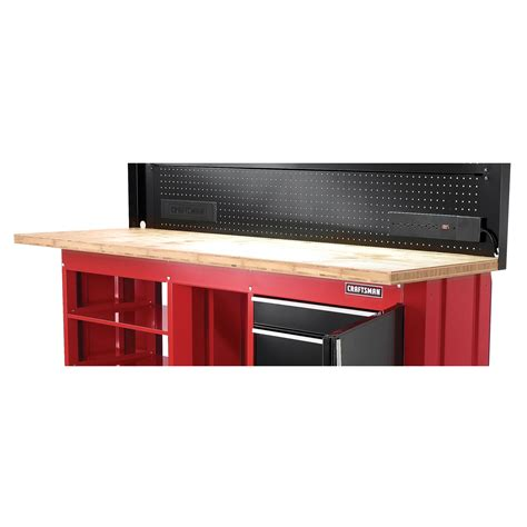 sears storage bench bamboo workbench work surface sustainable and functional