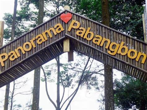 objek wisata alam panorama pabangbong leuwiliang portal