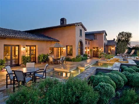 tuscan style homes how to furnish a mediterranean style home design