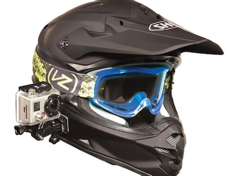 rider's helmet cam sd card confiscated motorbike writer
