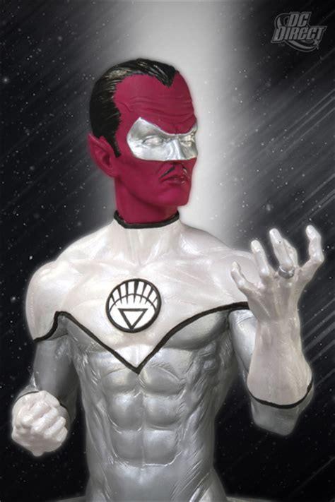 Dc Blackest White Lantern Sinestro Bust dc direct update for april 2011 the toyark news