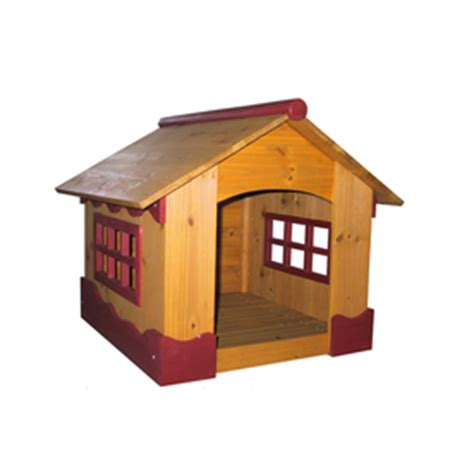 dog houses at lowes shop merry pet small wood dog house at lowes com