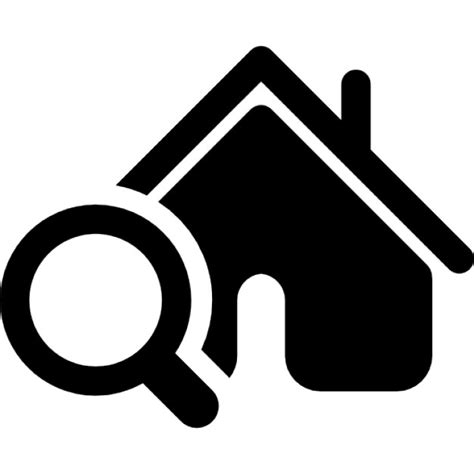 Free Lookup With House Search Icons Free