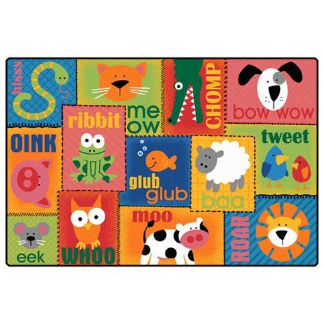 preschool rugs kidsoft animal sounds preschool rugs schoolsin
