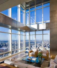 Photo of living room in one of the best penthouses on top of bloomberg