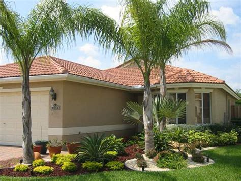 landscaping with palm trees ideas