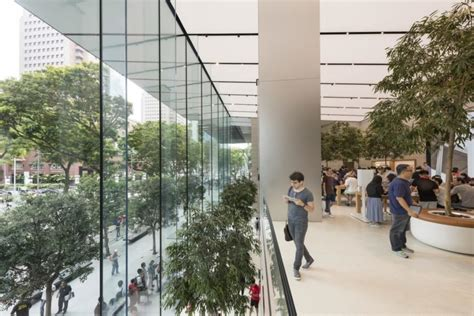 apple x singapore first apple store in southeast asia is 100 powered by