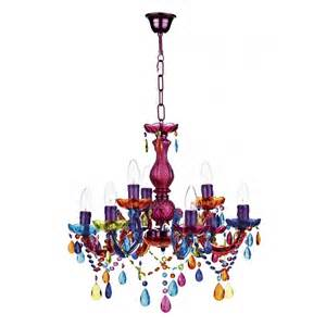 colored chandeliers modern multi coloured ceiling chandelier great for