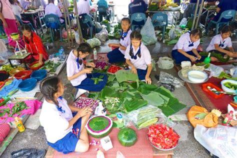 bahan untuk membuat montase loy krathong chiang mai lantern festival pergidulu com