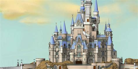 picture of a story book enchanted storybook castle how imagineering team built it