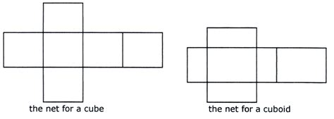 cuboid template cuboid 1 a net for a cuboid available with