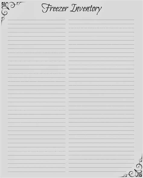 free printable lined chart paper printable lined notebook paper template