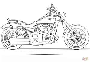 harley davidson coloring pages harley davidson motorcycle coloring page free printable
