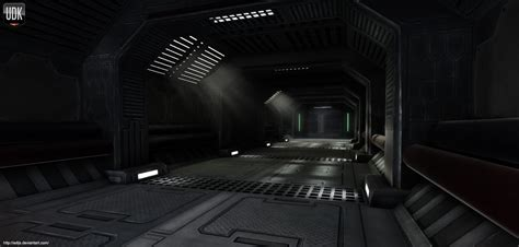 Sci Lighting by Sci Fi Hallway By Adijs On Deviantart