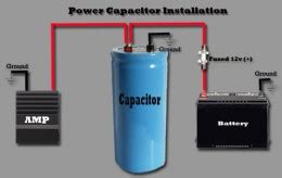 car system capacitor car audio capacitors why they don t work