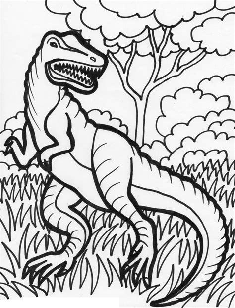 Galerry dinosaur coloring page printable