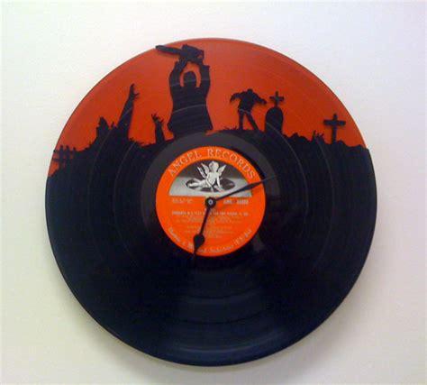 design ideas vinyl records recycled vinyl record clocks look cool