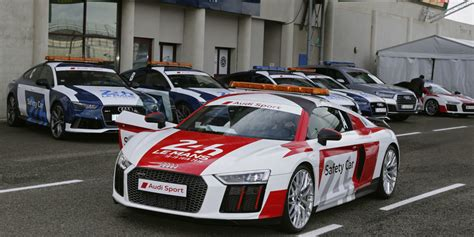 Audi Le Mans Drivers by Read This An With The Le Mans Safety Car Driver