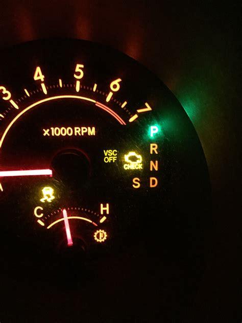 flashing check engine light toyota toyota tundra check engine light flashing