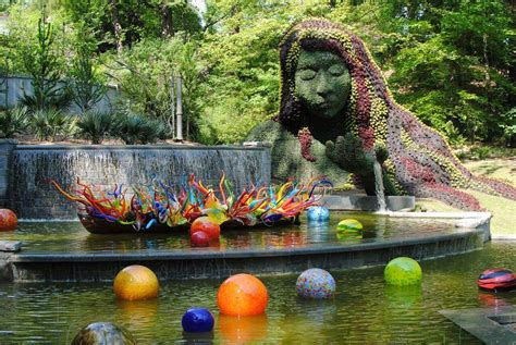 Botanical Gardens Glass Exhibit Dale Chihuly Create Be Well