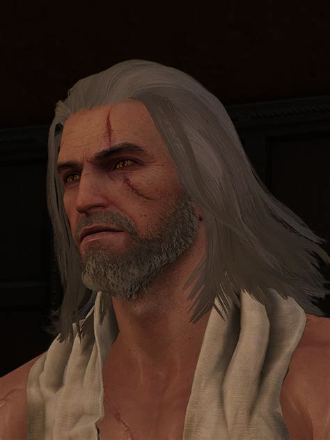 beard and hairstyles for geralt bioware fixed the faces of me a gamingcirclejerk