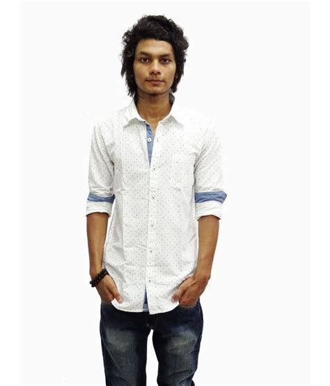 Zara Gift Card India - zara white printed casual shirt for men buy zara white printed casual shirt for men